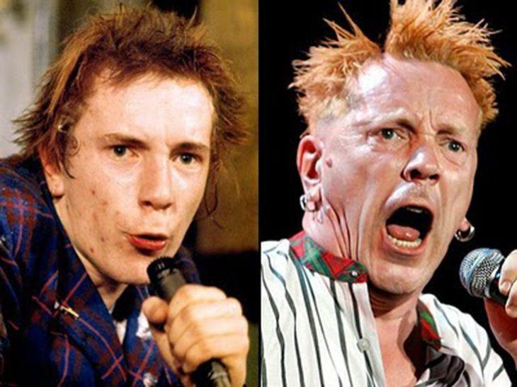 John Lydon antes y después