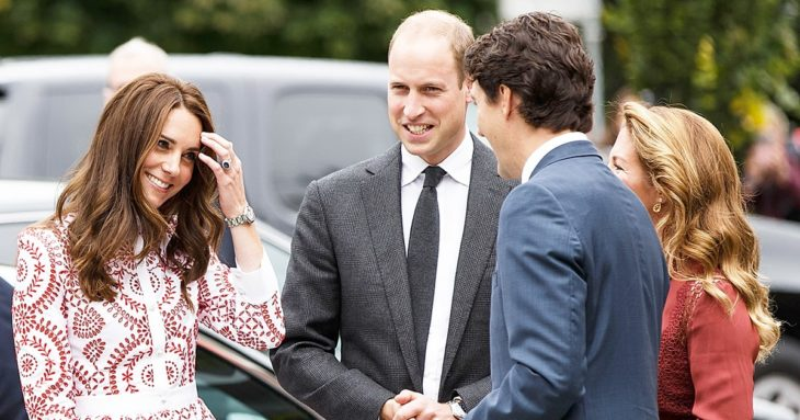 kate middleton y justin trudeau