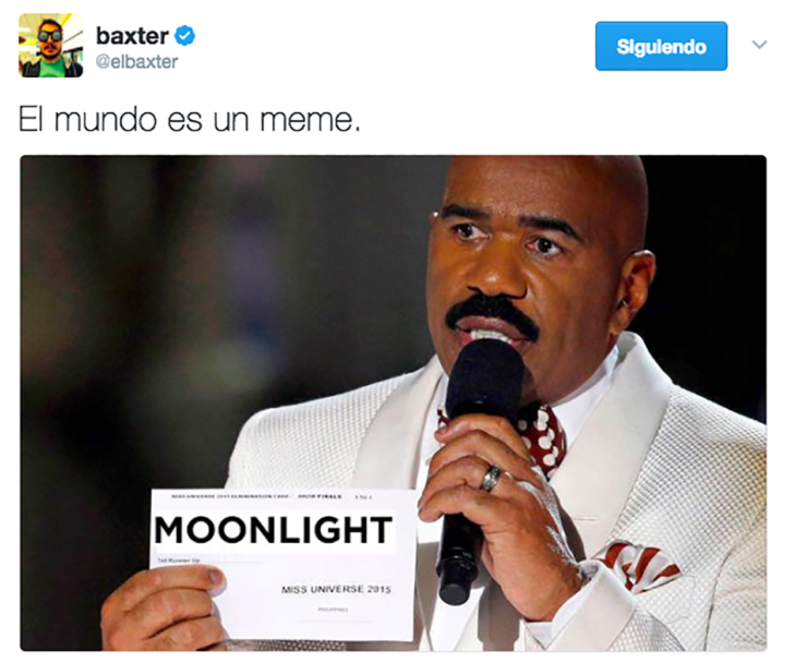 meme steve harvey la la land