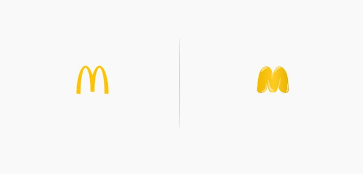 logo de mcdonalds rediseñado