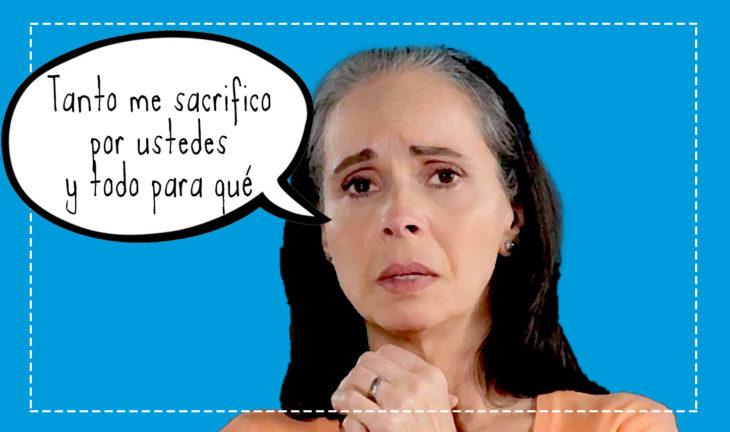 mamá sufrida de telenovela