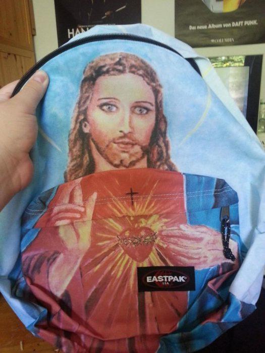mochila de jesucristo