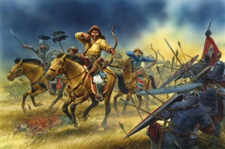 ejército mongol