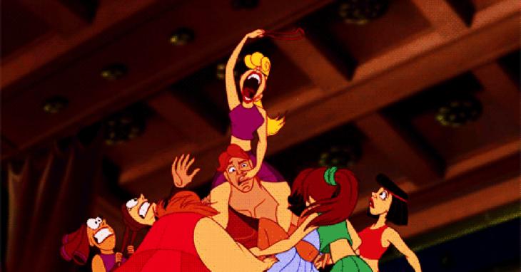 Peliculas de Disney en momentos incomodos