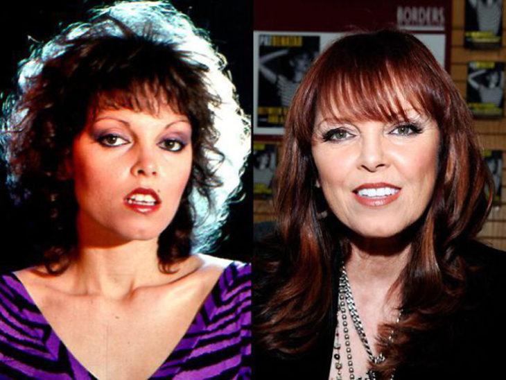 Pat Benatar antes y después
