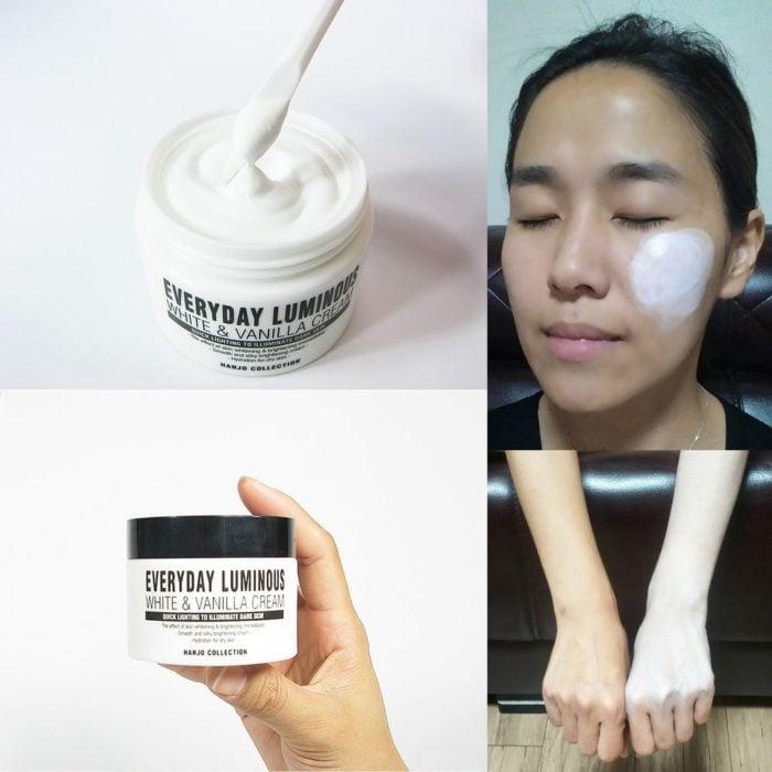 crema aclaradora de piel