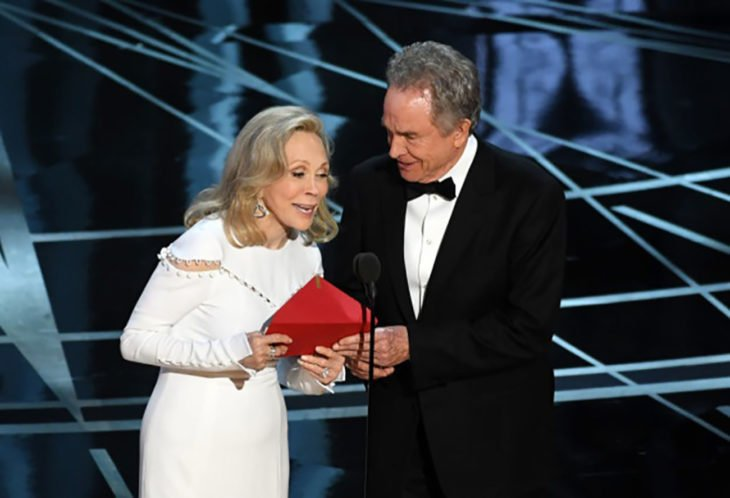 Warren Beatty y Faye Dunaway