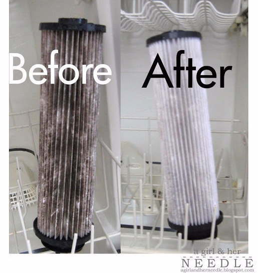 aspiradora filtro limpiar