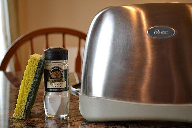 esponja crema tostador