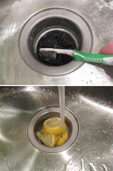 sarten limon y sal