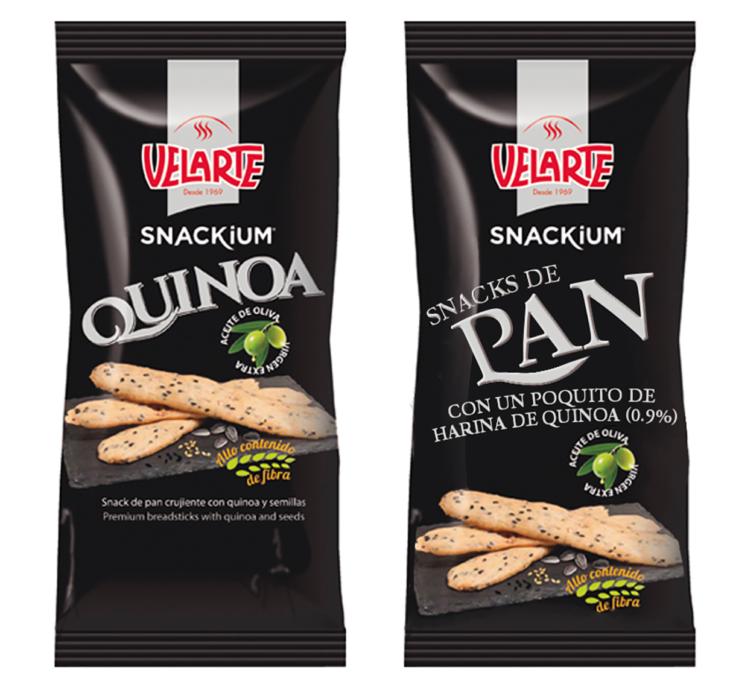 etiqueta real de pan de quinoa
