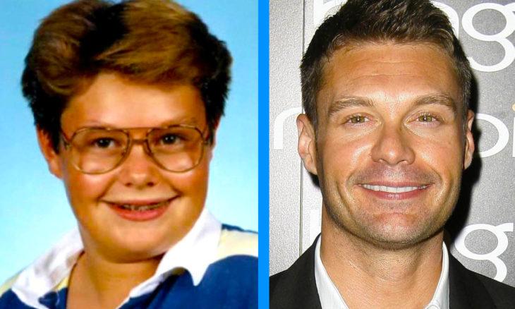 Ryan Seacrest antes y después