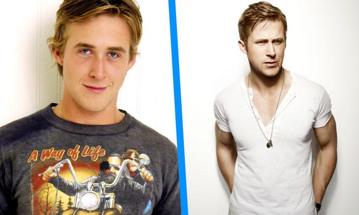 Ryan Gosling antes y después