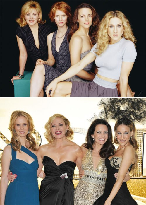 actrices de sex and the city 1998 vs 2010