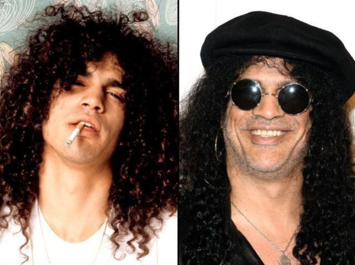antes y después de slash