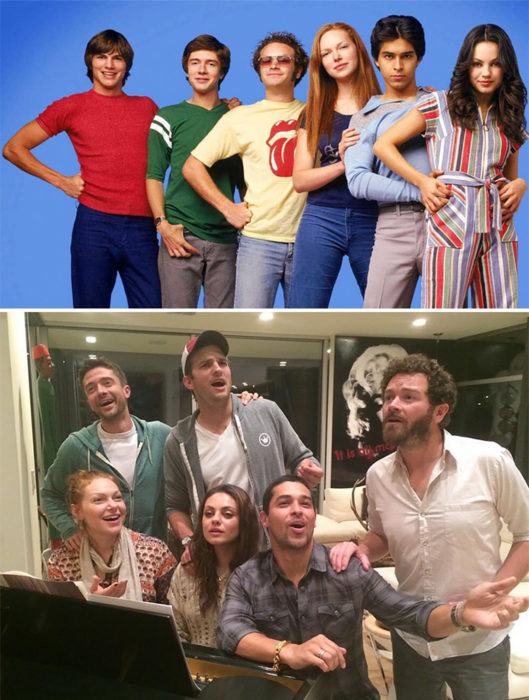 actores de that 70's show 1998 vs 2013