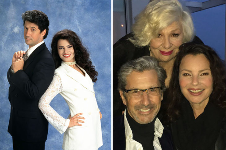 actores de the nanny 1993 vs 2016