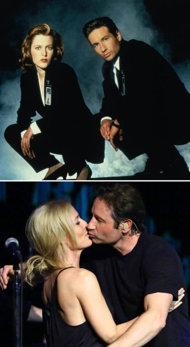 protagonistas de the x files 1993 vs 2015