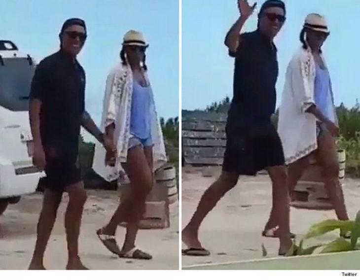 barack y michelle obama de vacaciones