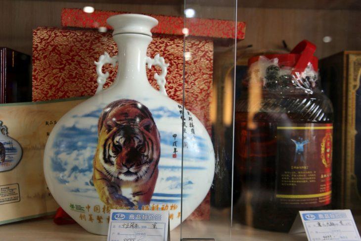 vino de tigre chino