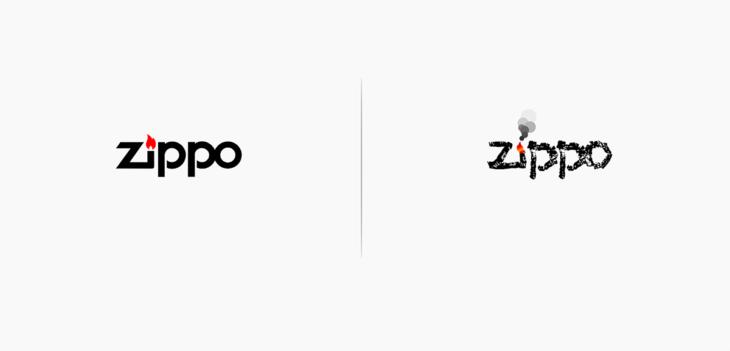 logo de zippo rediseñado