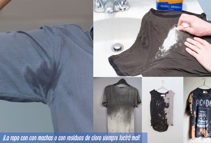 7 prendas no fashionistas ropa manchas
