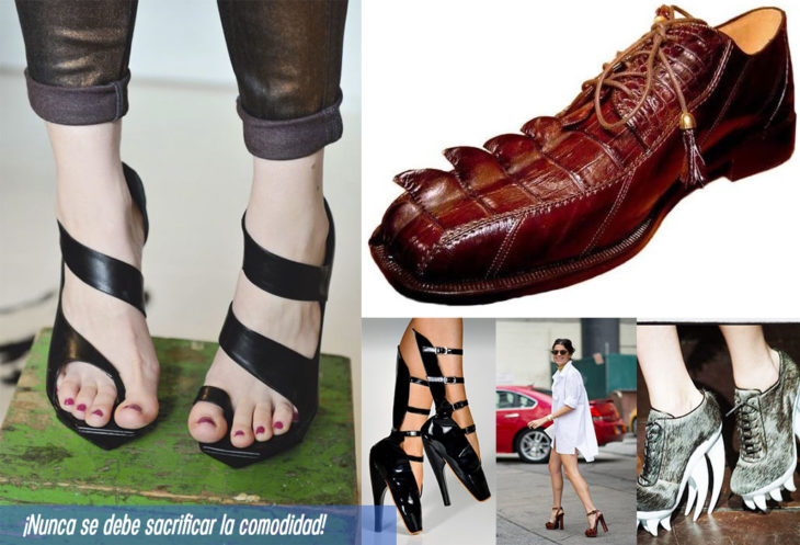 7 prendas no fashionistas zapatos incomodos