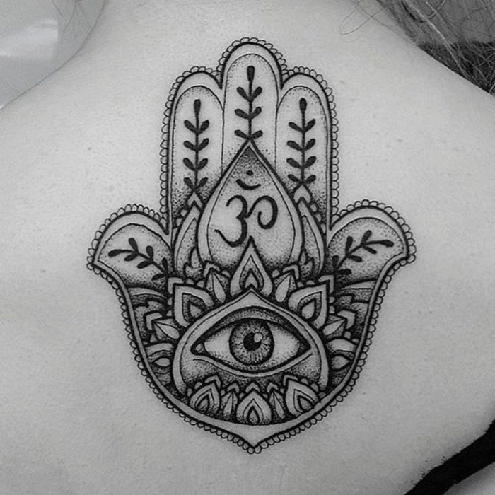 7-tatuajes para liberar mente hamsa