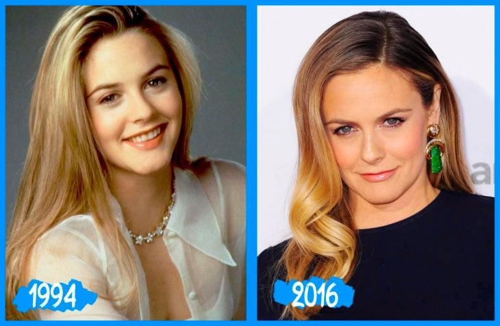 Alicia Silverstone antes e depois