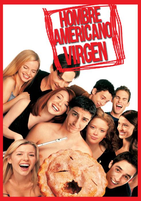 portada de la película hombre americano virgen