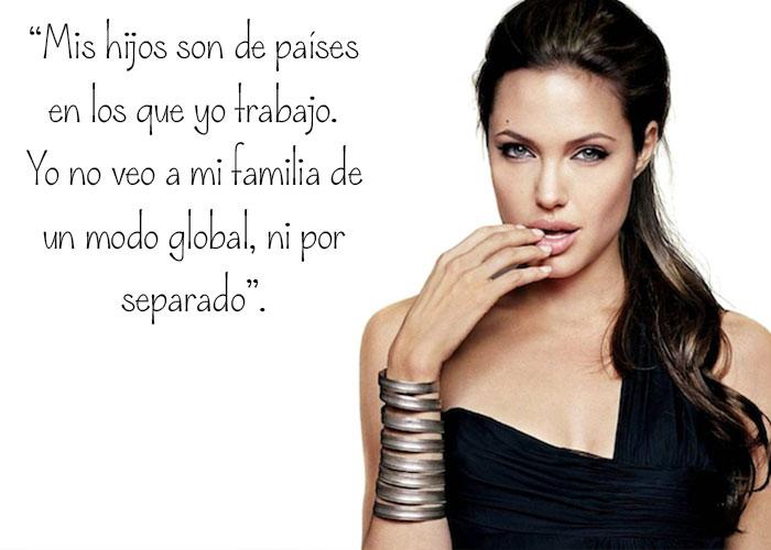 Frase Angelina Jolie Inspiración mujer