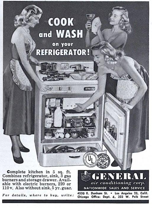 mujeres lavadora y lavaplatos incluido vintage objetos bizarros