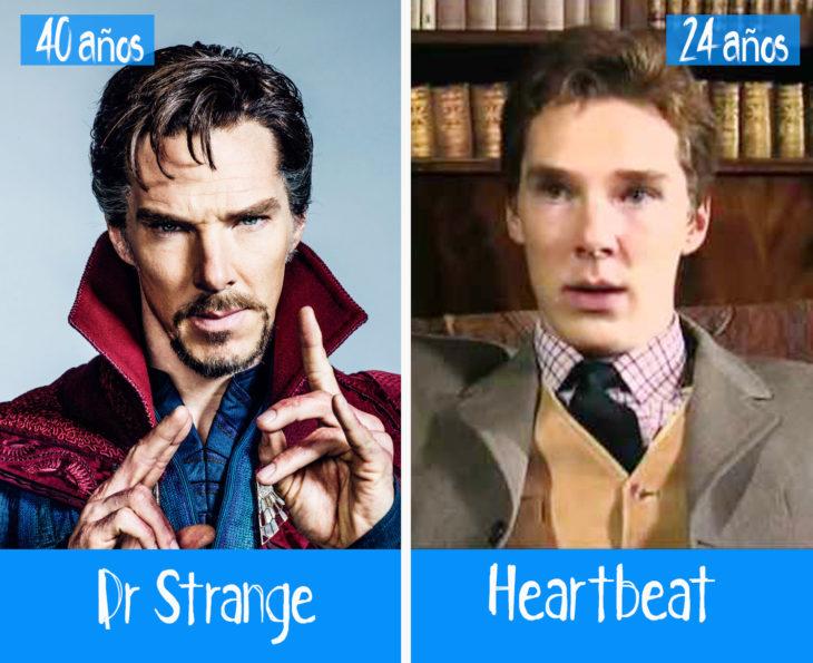 Benedict Cumberbatch en su primer y último papel