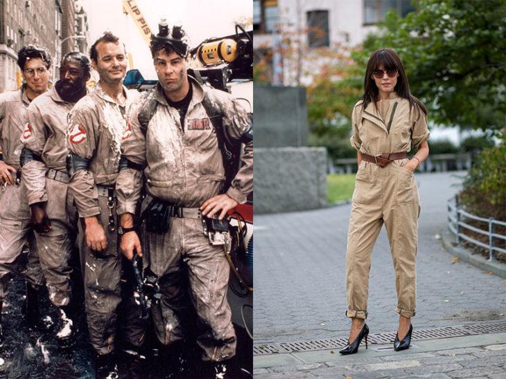 jumper cazafantasmas moda de los 80s