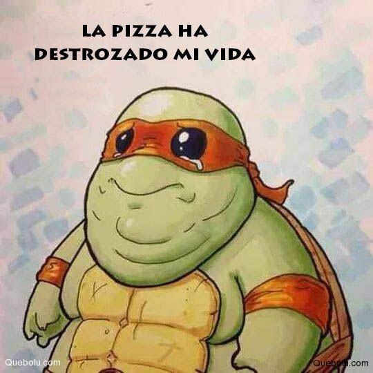 tortuga ninja pizza