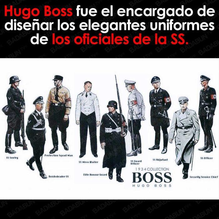 trajes hugo boss nazis