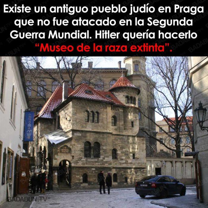 praga pueblo nazis
