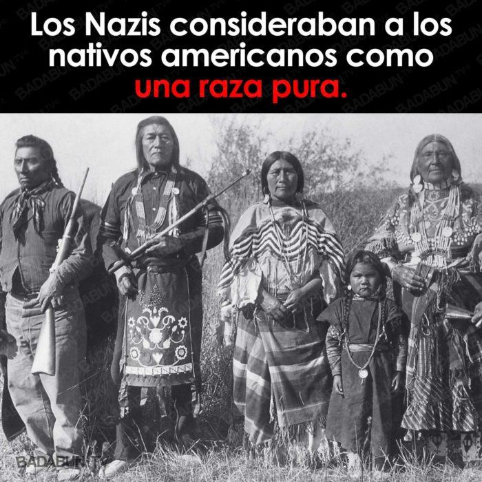 nazis nativos americanos