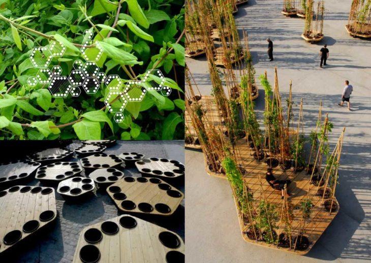 jardineras urbanas sustentables diseño