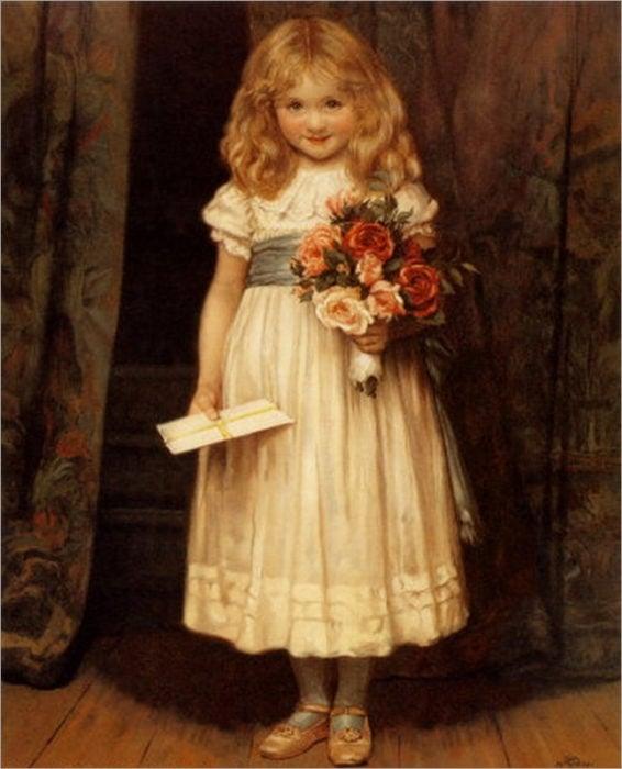 el retrato maldito niña pinturas que dan miedo