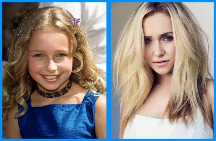 Hayden Panettiere antes y después