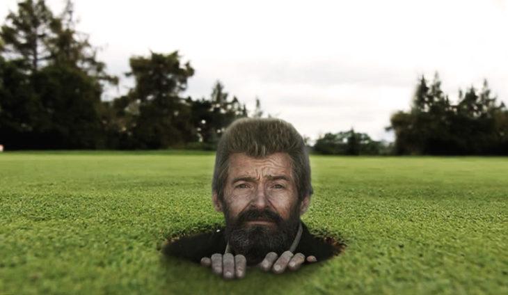 Hug jackman golf