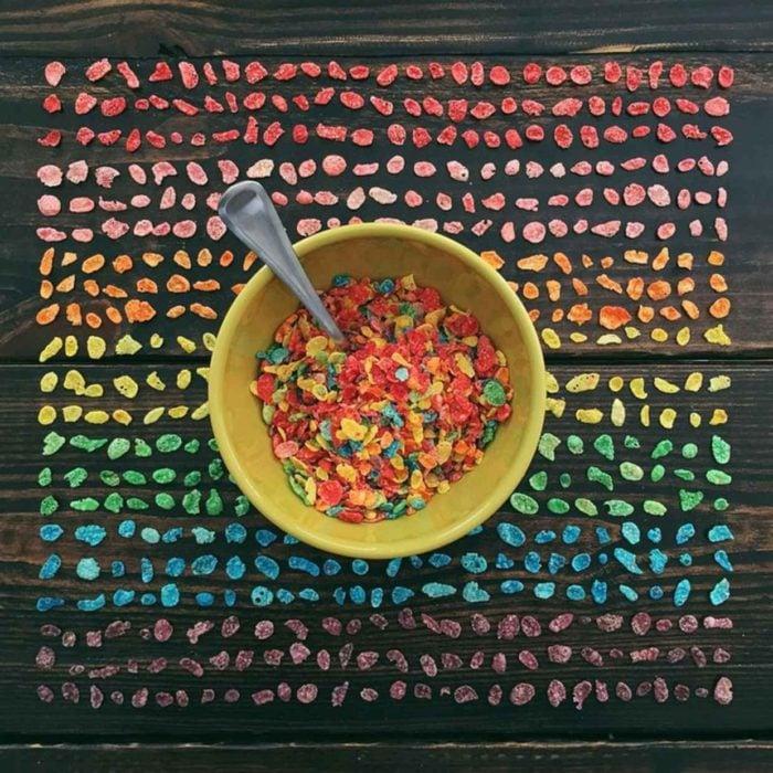 cereal por colores