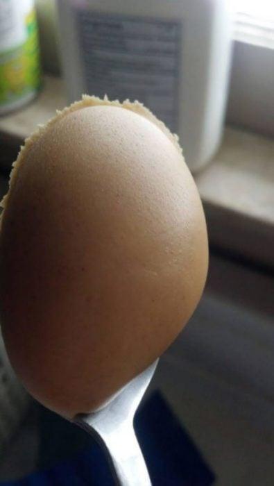 cucharada de crema de maní perfecta