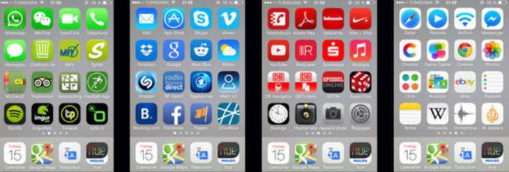 apps por colores