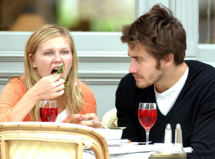 Jake gyllenhaal y Kristen Dunst