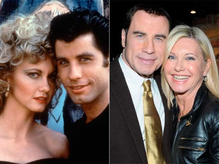 John Travolta y Olivia Newton