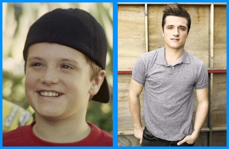 Josh Hutcherson antes y después