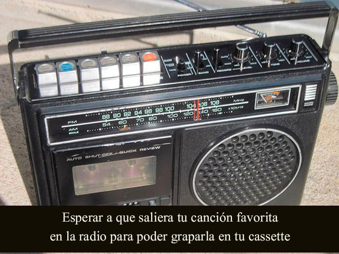 radio en los 90's