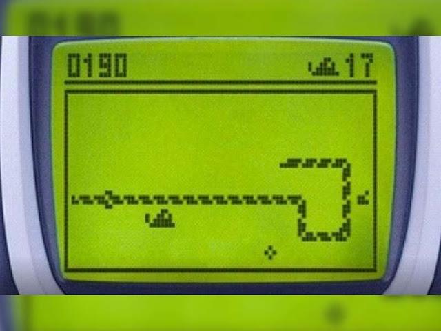 juego de la vibora celular 90's
